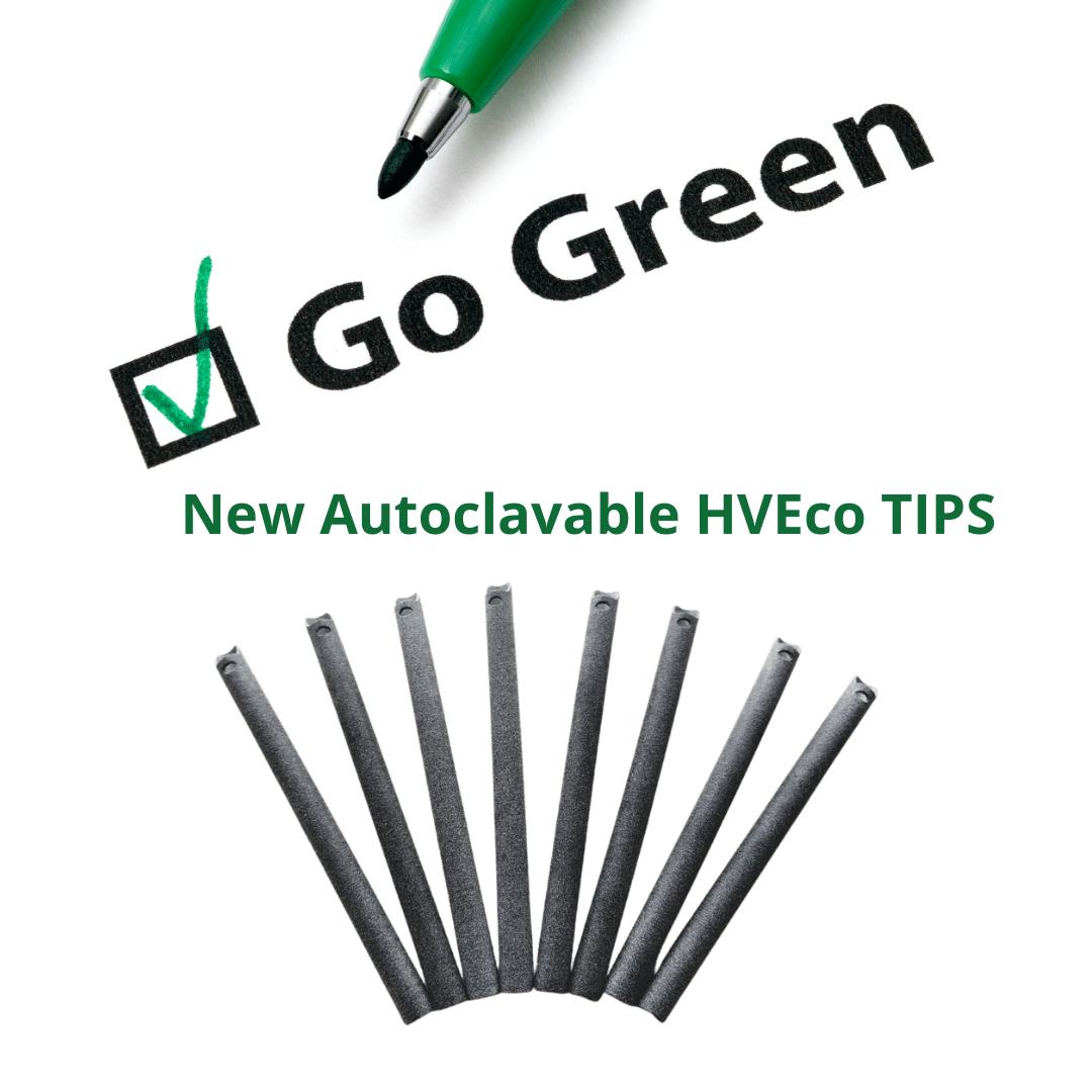 New Autoclavable HVE TIPS
